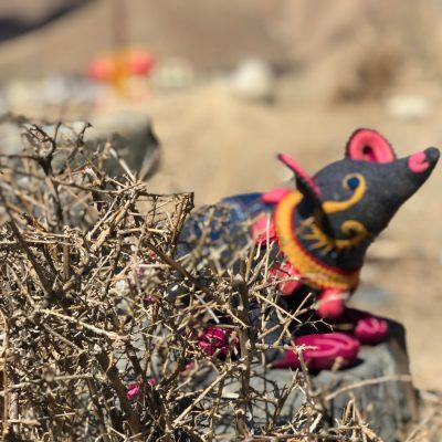 Tibetan Handmade Toy Rat