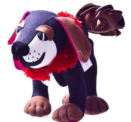 Handmade Mastiff stuffed toy