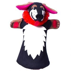 Mastiff hand puppet