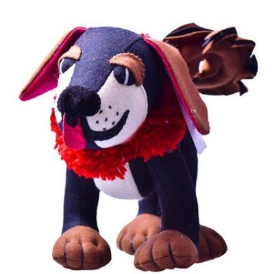 Mastiff stuffed toy
