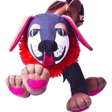Mastiff stuffed toy front view