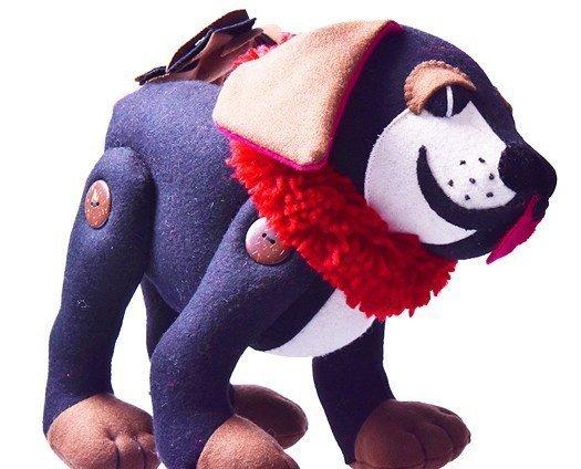 Tibetan Mastiff stuffed toy