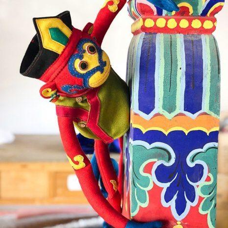 Tibetan Monkey stuffed toy