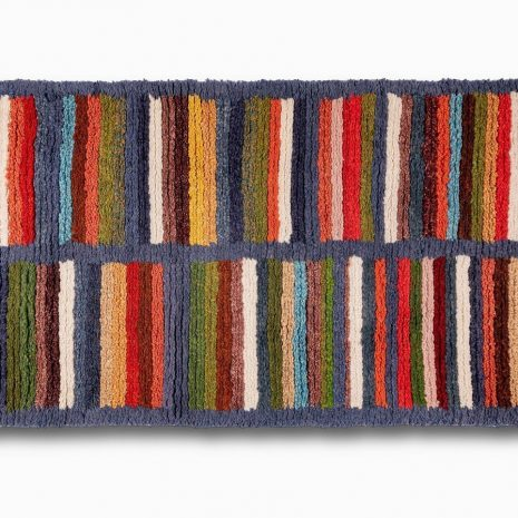 Multi color sheep wool hand made carpet